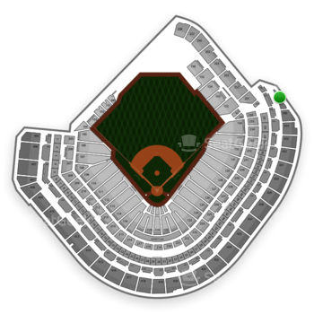MLB at Minute Maid Park Section 438 View