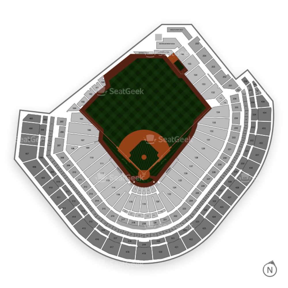 Minute maid park seating chart map seatgeek