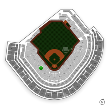 Houston Astros at Minute Maid Park Section 113 View