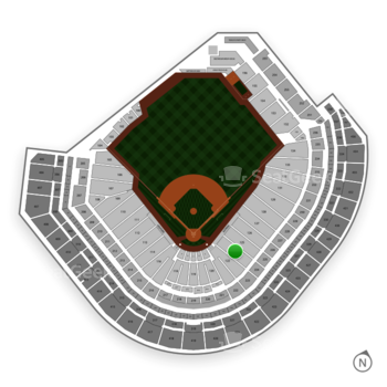 Houston Astros at Minute Maid Park Section 124 View