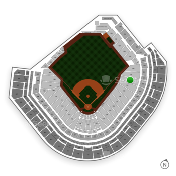 Houston Astros at Minute Maid Park Section 132 View