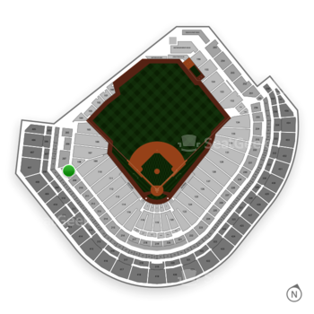 Houston Astros at Minute Maid Park Section 208 View