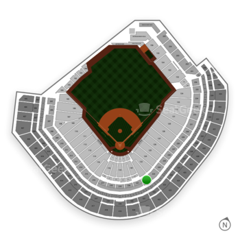 Houston Astros at Minute Maid Park Section 222 View