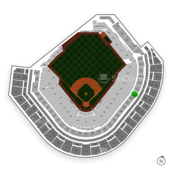 Houston Astros at Minute Maid Park Section 230 View