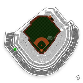 Houston Astros at Minute Maid Park Section 309 View