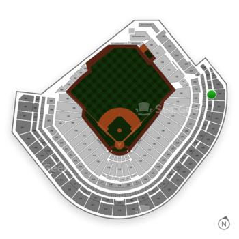 Houston Astros at Minute Maid Park Section 334 View