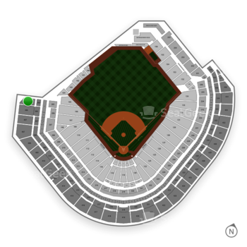 Houston Astros at Minute Maid Park Section 405 View