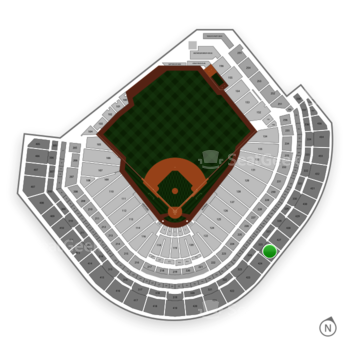 Houston Astros at Minute Maid Park Section 425 View