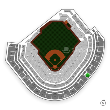 Houston Astros at Minute Maid Park Section 427 View