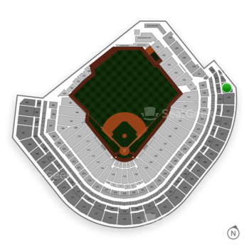 Houston Astros at Minute Maid Park Section 436 View