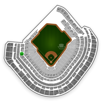 Houston Astros at Minute Maid Park Section 207 View