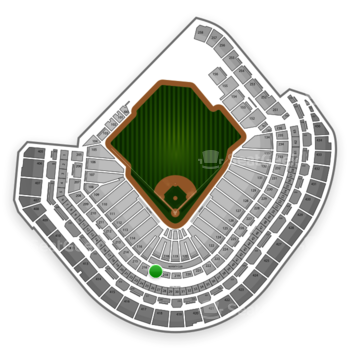 Houston Astros at Minute Maid Park Section 217 View