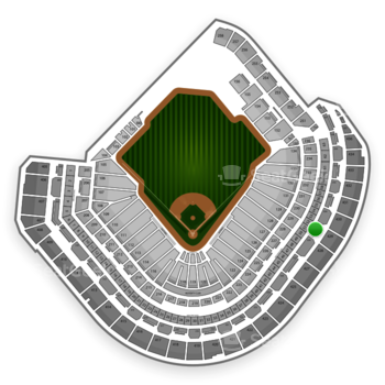 Houston Astros at Minute Maid Park Section 329 View