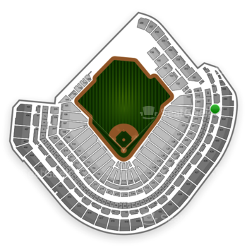 Houston Astros at Minute Maid Park Section 333 View