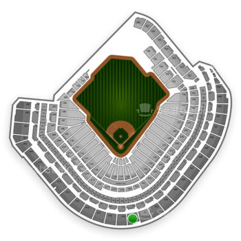 Houston Astros at Minute Maid Park Section 420 View