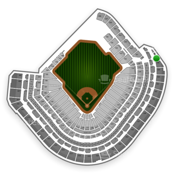 Houston Astros at Minute Maid Park Section 437 View
