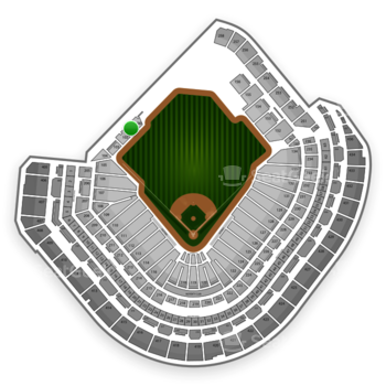 MLB at Minute Maid Park Section 101 View