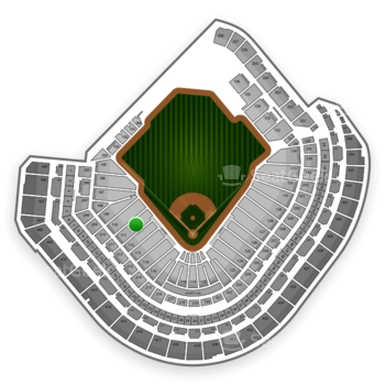 MLB at Minute Maid Park Section 111 View