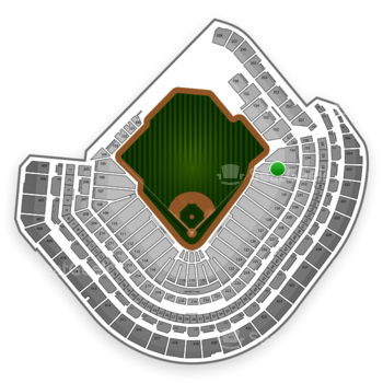 MLB at Minute Maid Park Section 133 View