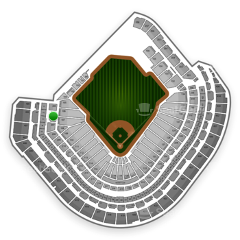 MLB at Minute Maid Park Section 206 View