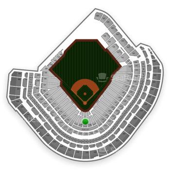 Houston Astros at Minute Maid Park Section 119 View
