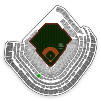 Houston Astros at Minute Maid Park Section 215 View