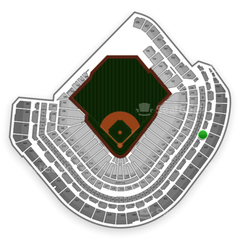 Houston Astros at Minute Maid Park Section 330 View