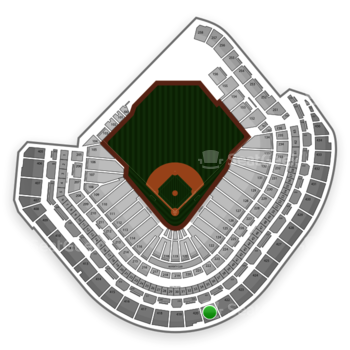 Houston Astros at Minute Maid Park Section 421 View