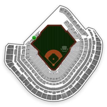 MLB at Minute Maid Park Section 102 View
