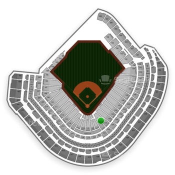 MLB at Minute Maid Park Section 122 View