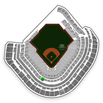 MLB at Minute Maid Park Section 216 View