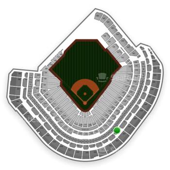 MLB at Minute Maid Park Section 324 View