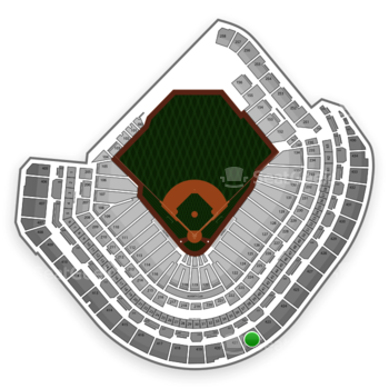 Houston Astros at Minute Maid Park Section 422 View