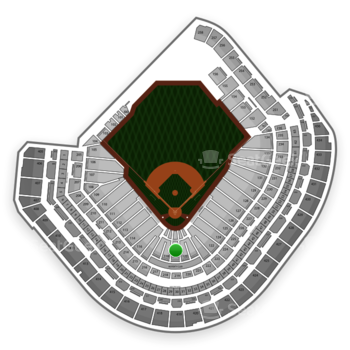 MLB at Minute Maid Park Section 119 View