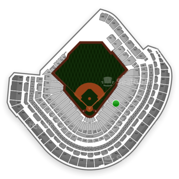 MLB at Minute Maid Park Section 127 View