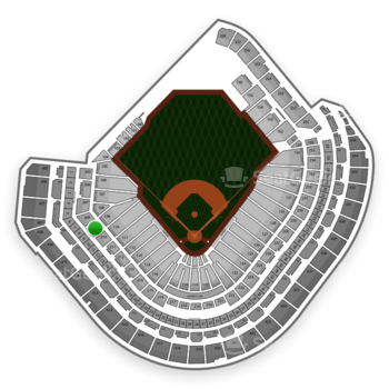 MLB at Minute Maid Park Section 209 View
