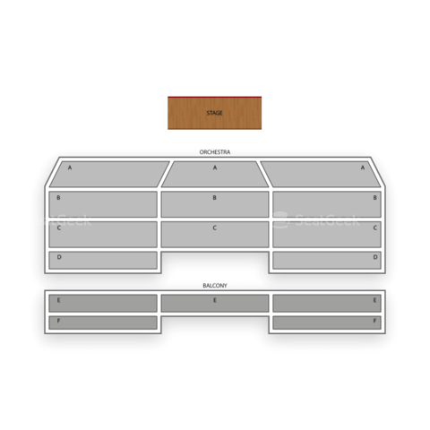 Royal Oak Music Theatre seating chart Alabama Shakes