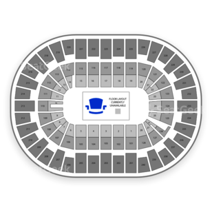 Nassau Coliseum Seating Chart Rodeo