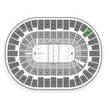 New York Islanders at Nassau Coliseum Section 229 View