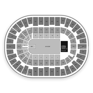 Nassau Veterans Memorial Coliseum Seating Chart Concert
