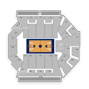 Miami Hurricanes Basketball Seating Chart