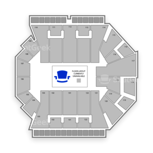 BankUnited Center Seating Chart Theater
