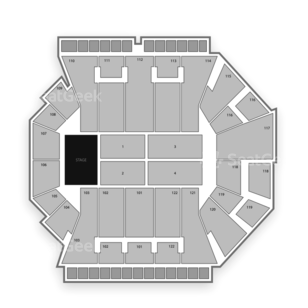 BankUnited Center Seating Chart Concert