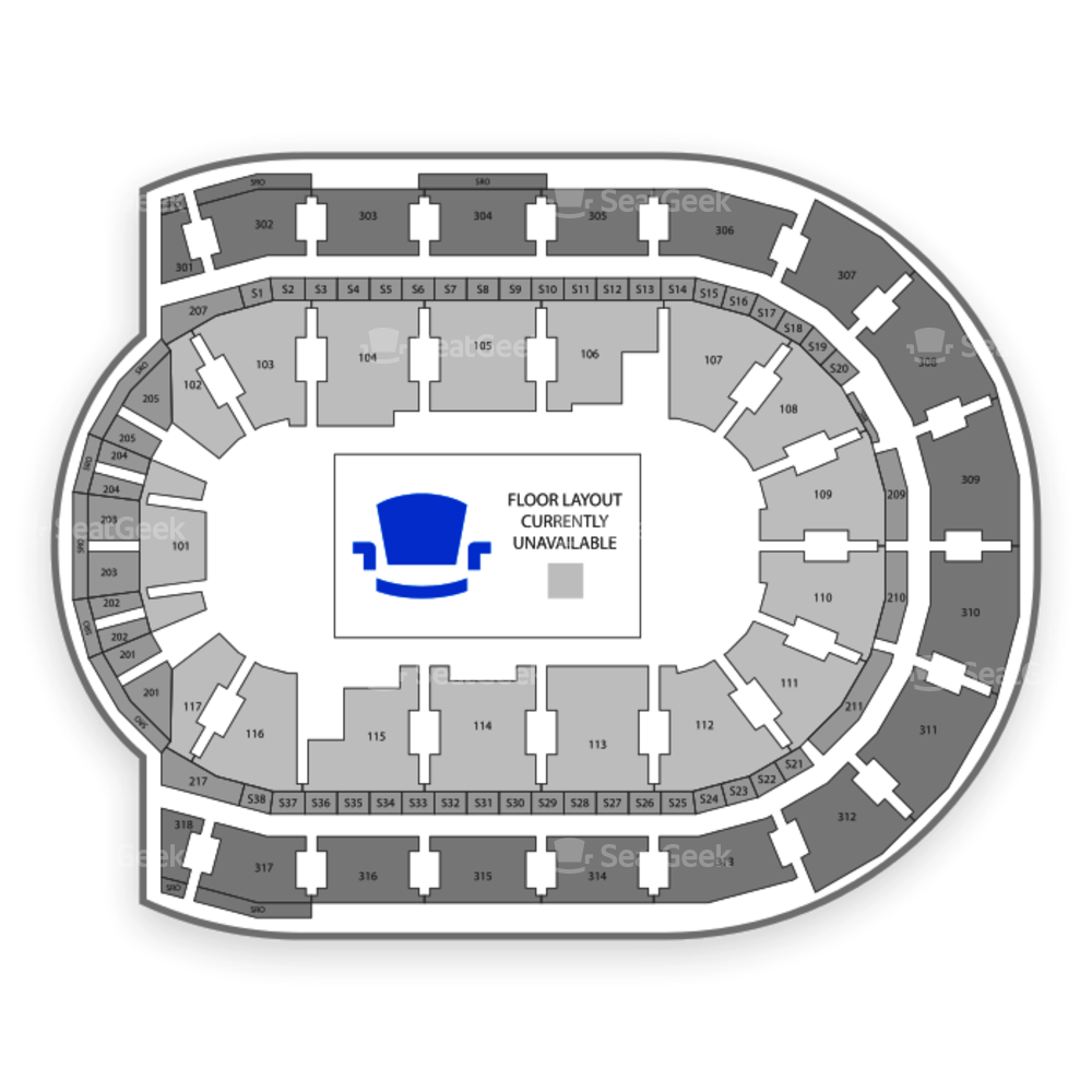 Budweiser Gardens Seating Chart Family