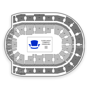 Budweiser Gardens Seating Chart Theater