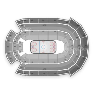 Budweiser Gardens Seating Chart NHL