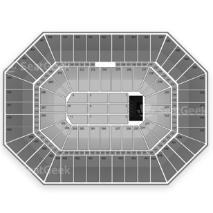 BMO Harris Bradley Center Seating Chart Concert