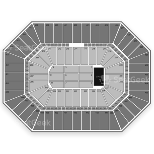BMO Harris Bradley Center Seating Chart Comedy