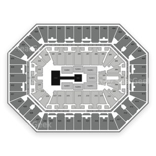 BMO Harris Bradley Center Seating Chart Wrestling
