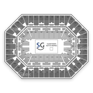 BMO Harris Bradley Center Seating Chart MMA